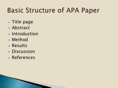 How to Format Your Essay in APA Style - YouTube